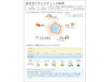 バランスアップシート(筑波大学との連携)