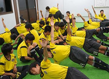 室内トレーニング(育成棟)